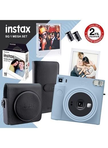 Fujifilm Instax Sq1 Buz Mavi Fotoğraf Makinesi Ve Mega Hediye Seti Mavi